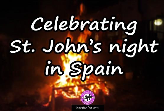 Celebrating St. John's night in Spain